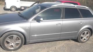 Видео-тест автомобиля Audi A4 (серебро, 2004, 2,0)