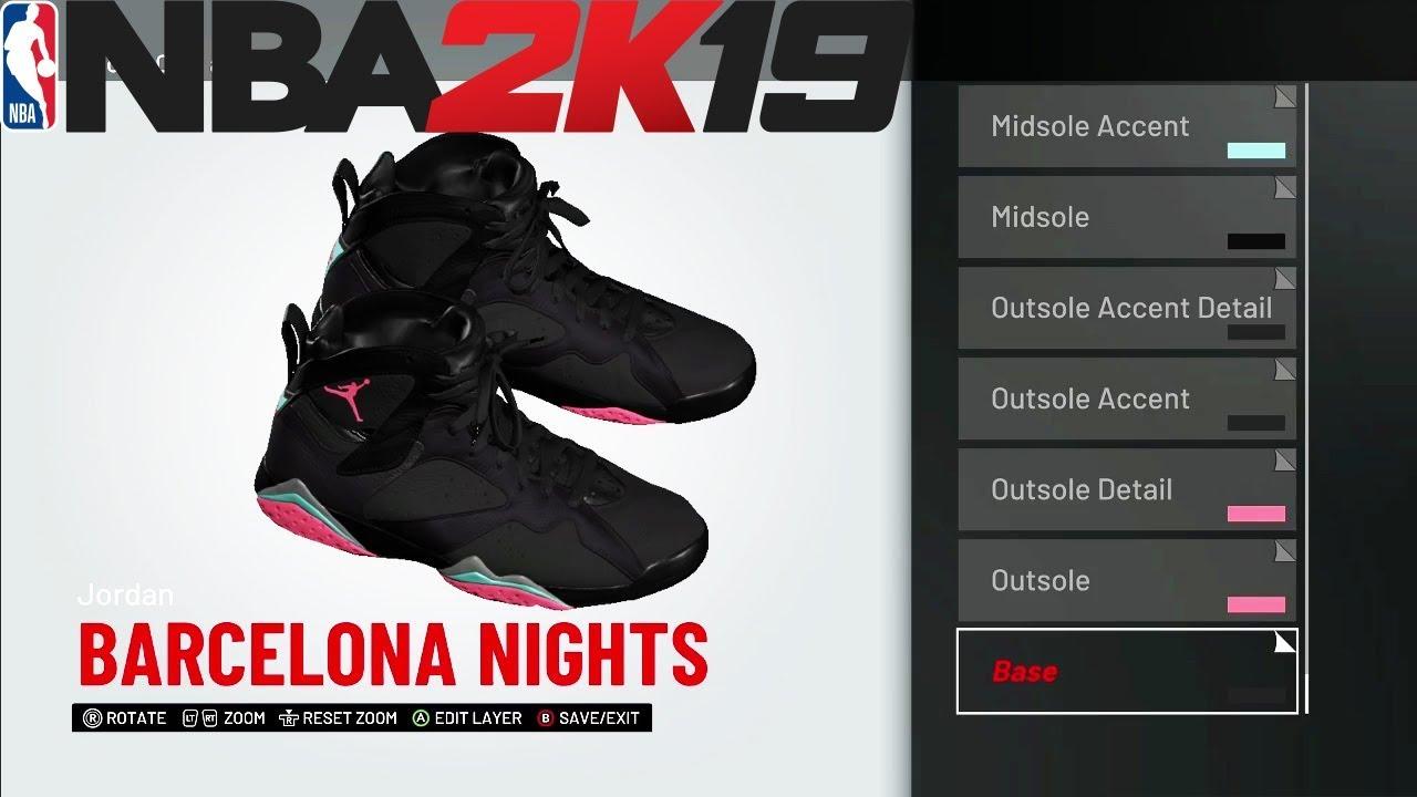NBA 2K19 Shoe Creator  2fb969cf9