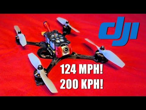 Фото DJI Drone Does 124mph!