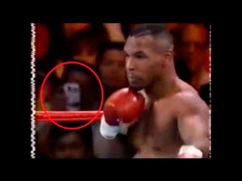 Viajero en el tiempo queda al descubierto en pelea de Mike Tyson ¡en 1995!