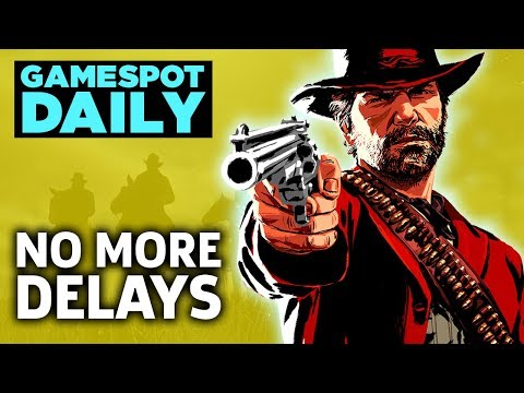 """No More Red Dead Redemption 2 Delays; $200 PS4 """"Elite"""" Controller - GameSpot Daily"""