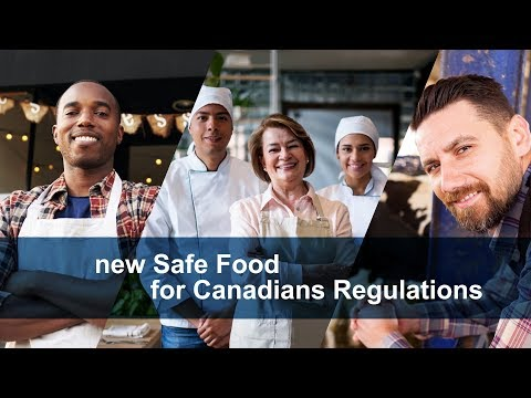 Get Ready For The Safe Food For Canadians Regulations