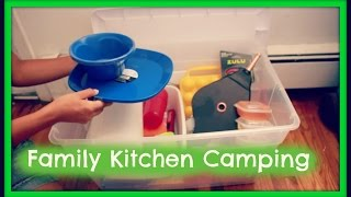 Camping Kitchen Essentials!