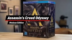 Unboxing: Assassin's Creed Odyssey Medusa Edition