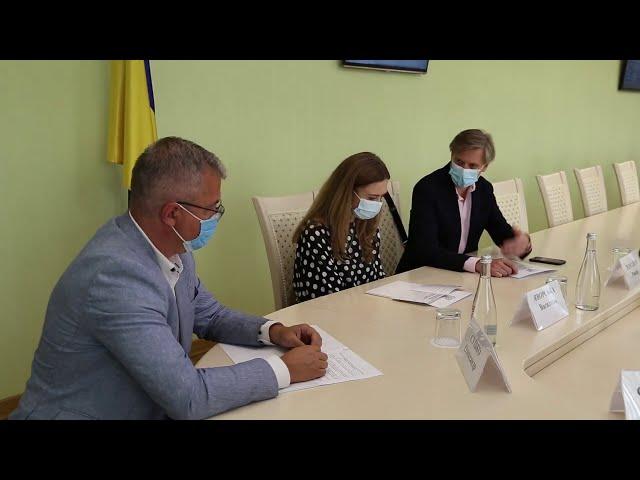Підписання меморандуму з Міжнародним фондом «Відродження»