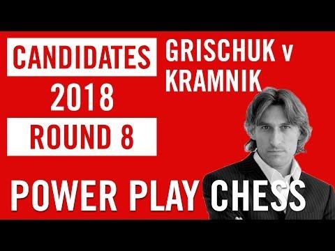World Chess Candidates 2018 | Berlin | Round 8 - Grischuk v Kramnik