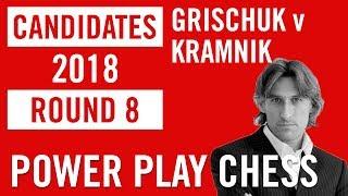 World Chess Candidates 2018   Berlin   Round 8 - Grischuk v Kramnik