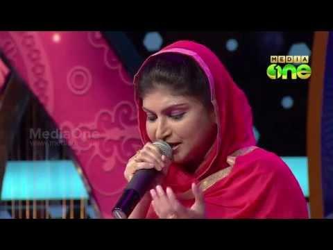 Pathinalam Ravu Season3 Guest Rahna Singing 'Kaaba moodiya Karutha..' (Epi24 Part4)