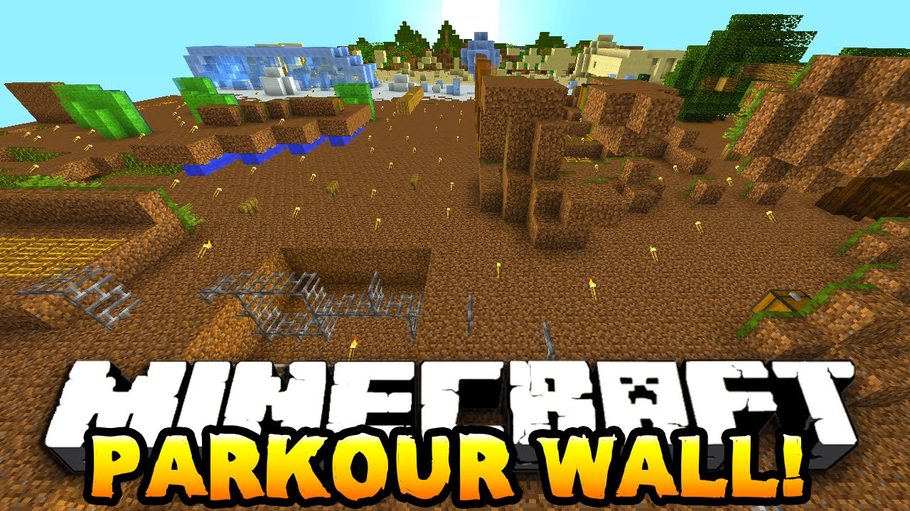 how to build a parkour map in minecraft