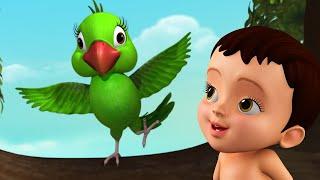 Aaye Re Aye Tiye, Naye Bhor Niye   Bengali Baby Song & Rhymes   Infobells