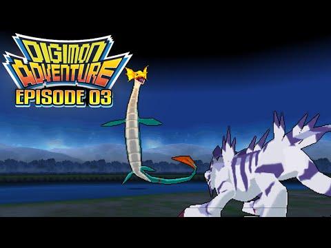 "Digimon Adventure - Ep 3 : ""The Blue Wolf! Garurumon"" [PSP/ENG]"