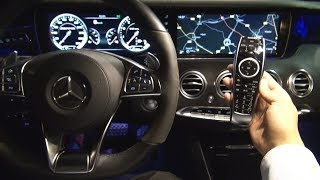 2017 Mercedes S Class Night Vision Test - Review S63 AMG View Assist Plus Camera Ambient