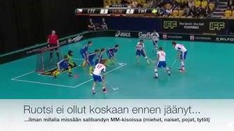 Muistatko tämän superyllätyksen poikien MM-kisoista? Ruotsi jäi ilman mitalia