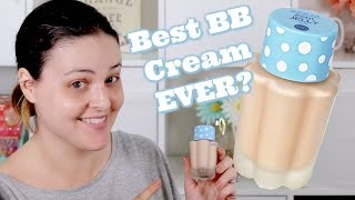 Holika Holika - Aqua Petit Jelly BB Cream REVIEW and Wear Test! | What the ***K??