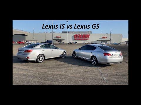Lexus IS vs