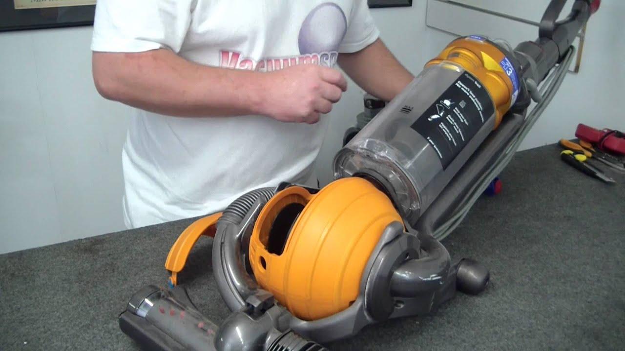 dyson dc25 bagless vacuum filter change youtube. Black Bedroom Furniture Sets. Home Design Ideas