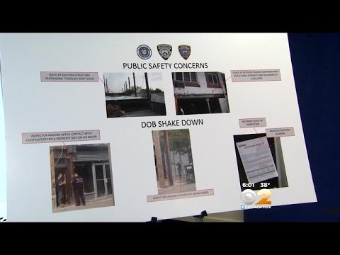 Manhattan DA: Arrests Made In Widespread Building Inspector Bribery Scheme