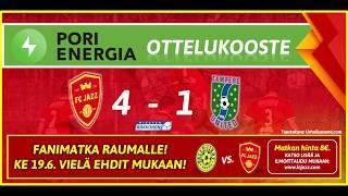 Pori Energia ottelukooste: FC Jazz - TamU 16.6.2019