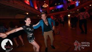 Jonatha Casarin & Kerstin Valet - Salsa social dancing | Grazy Salsa Festival 2018