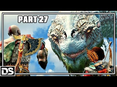 God of War PS4 Gameplay German #27 - Die alte Schlangensprache - Let's Play God of War 4 Deutsch