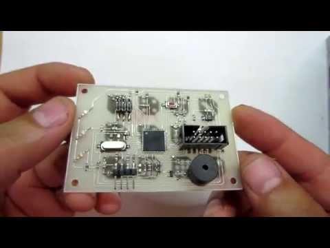 Работа с шиной 1-wire. Подключение термодатчика DS18B20 к