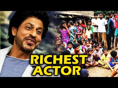 Why Shahrukh Is Richest Actor Of Bollywood, Shahrukh Khan's HIDDEN Charity Work