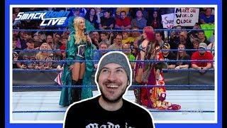 Reaction | ASUKA & CHARLOTTE Face To Face!!! | WWE Smackdown Live March 13, 2018