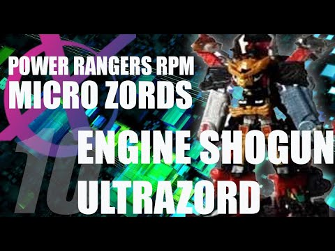 Power Rangers RPM Micro Zords reviews (combo special) pt
