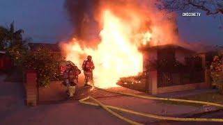 Anaheim House Fire