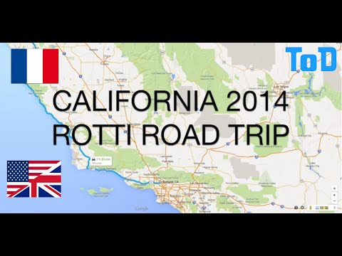 Rotti Road Trip 2014 - From Burbank to San Jose driving on the Pacific Highway