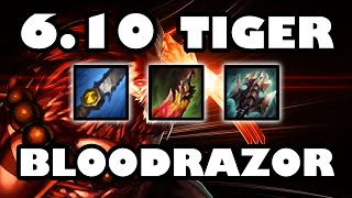 Tanky Lifesteal Carry | Bloodrazor Tiger Udyr Jungle Guide [6.10]