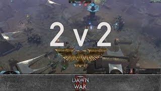 Dawn of War 2: Retribution - 2v2 | K.A.F. + Qwest [vs] Hachbubuch + Mowgli