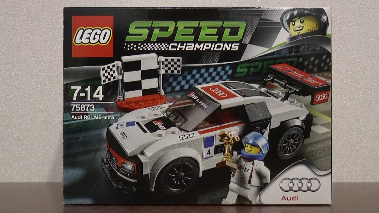 lego speed champions 75873 audi r8 lms ultra youtube. Black Bedroom Furniture Sets. Home Design Ideas