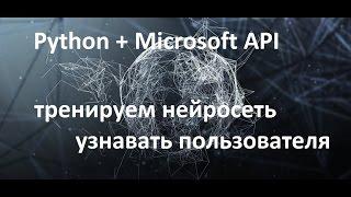 Компьютерное зрение, обучение нейросети. Python+Microsoft Api