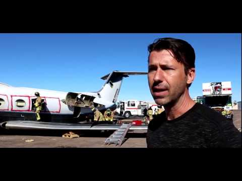 Damri MMA Donates Jet to Mesa Fire/Medical