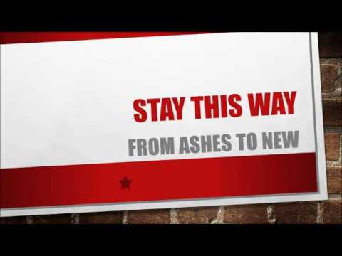 From Ashes To New - Stay This Way (Lyrics)