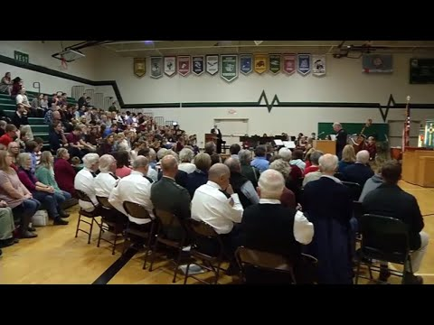 Veterans Honored at West Lutheran High School