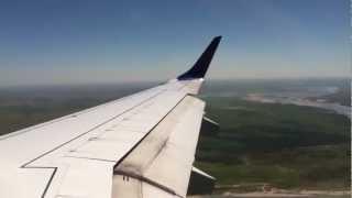 Frontier Airlines Embraer E190 landing/Taxi/Shutdown in Bismarck, North Dakota