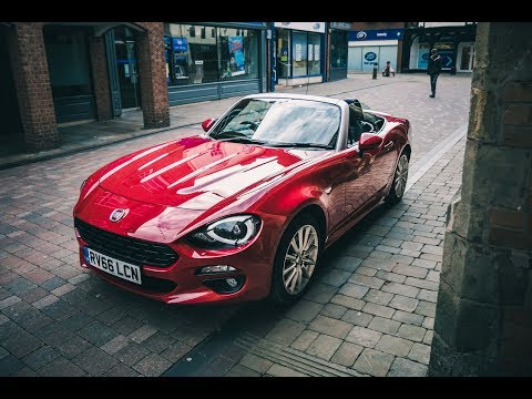 Fiat 124 Spider - This is why you NEED ONE!