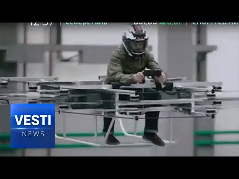 Must See - Producer of AK-47, Kalashnikov, Now Comes Up with a Hi-Tech Hoverbike