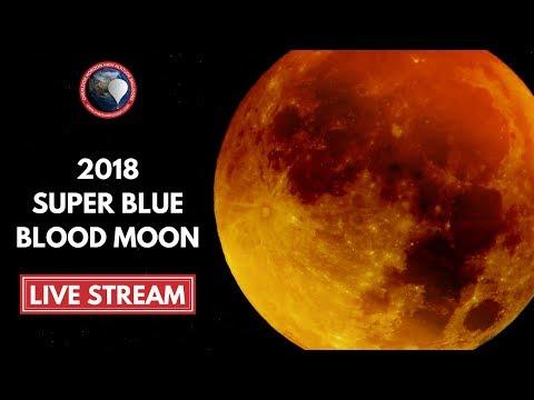 2018 Super Blue Blood Moon | Lunar Eclipse