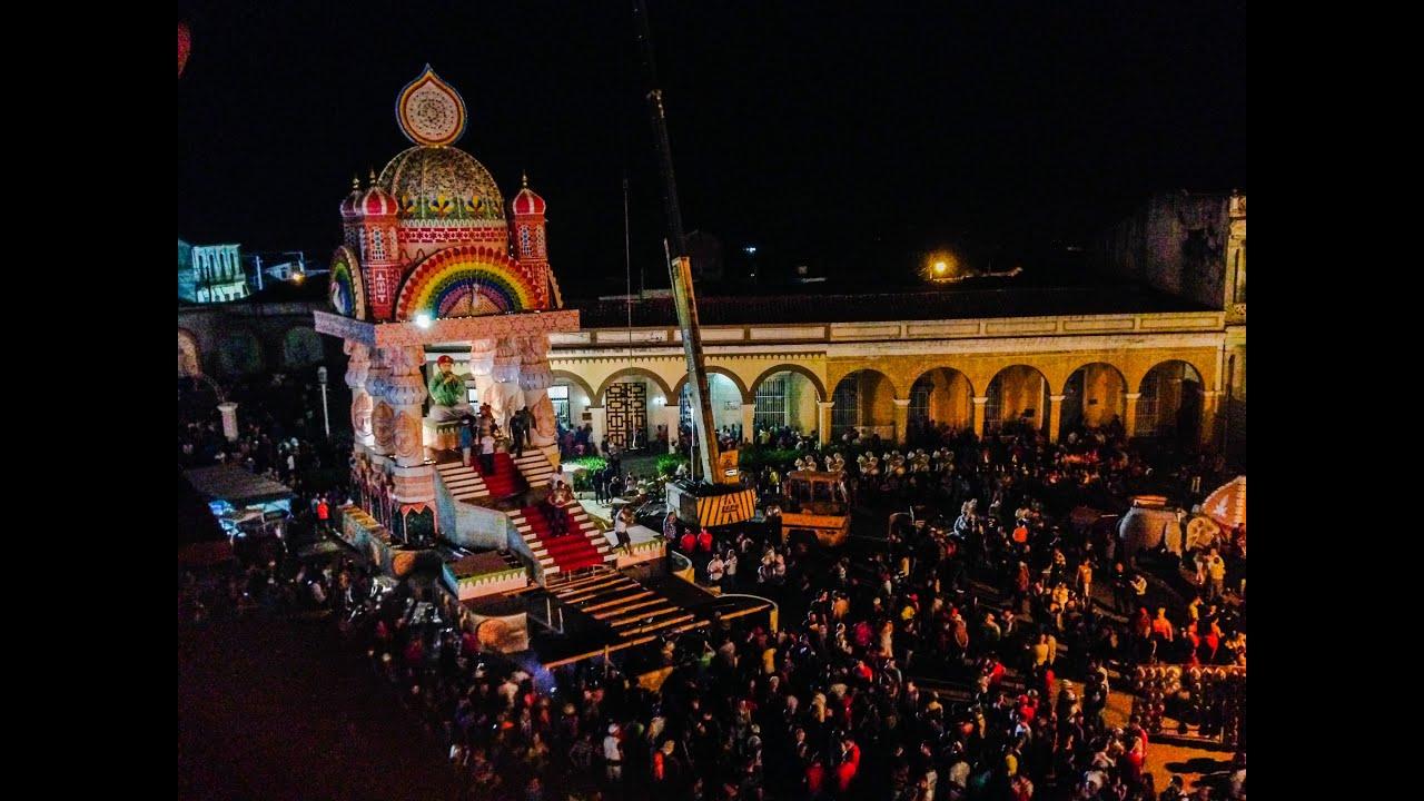 Christmas In Cuba.Las Parandas De Remedios Christmas Eve In Cuba