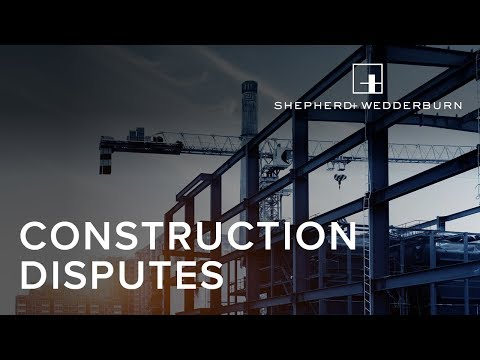 Resolving Your Construction Dispute - Adjudication