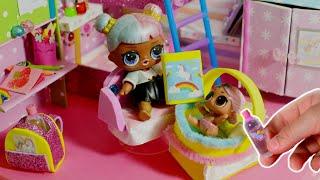 DIY Miniature Dollhouse Room - Unicorn Bedroom Decor! Комната своими руками! Лайфхаки для кукол! / Видео