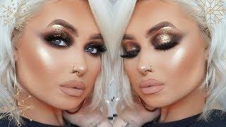 ULTIMATE Bronze + Gold Spotlight Smokey Eye | Makeup Tutorial