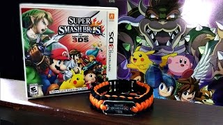 Pulsera smash + Poster Metalico Super Smash Bros 3DS Thumbnail