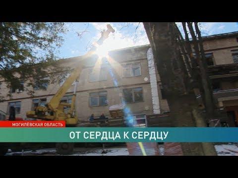 Руслан Алехно вернулся в Бобруйск, чтобы помочь с ремонтом детской больницы
