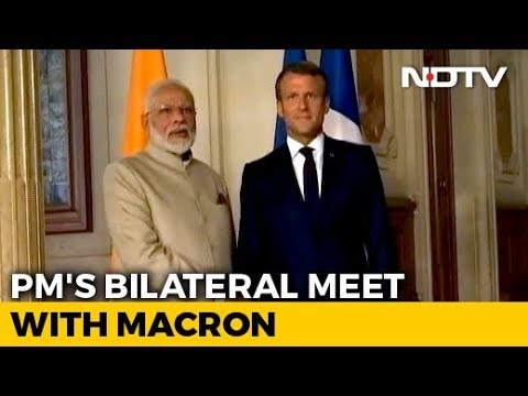 India, Pak Should Resolve Kashmir Bilaterally: French President Emmanuel Macron