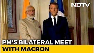 India, Pak Should Resolve Kashmir Bilaterally: French President Emmanuel Macron