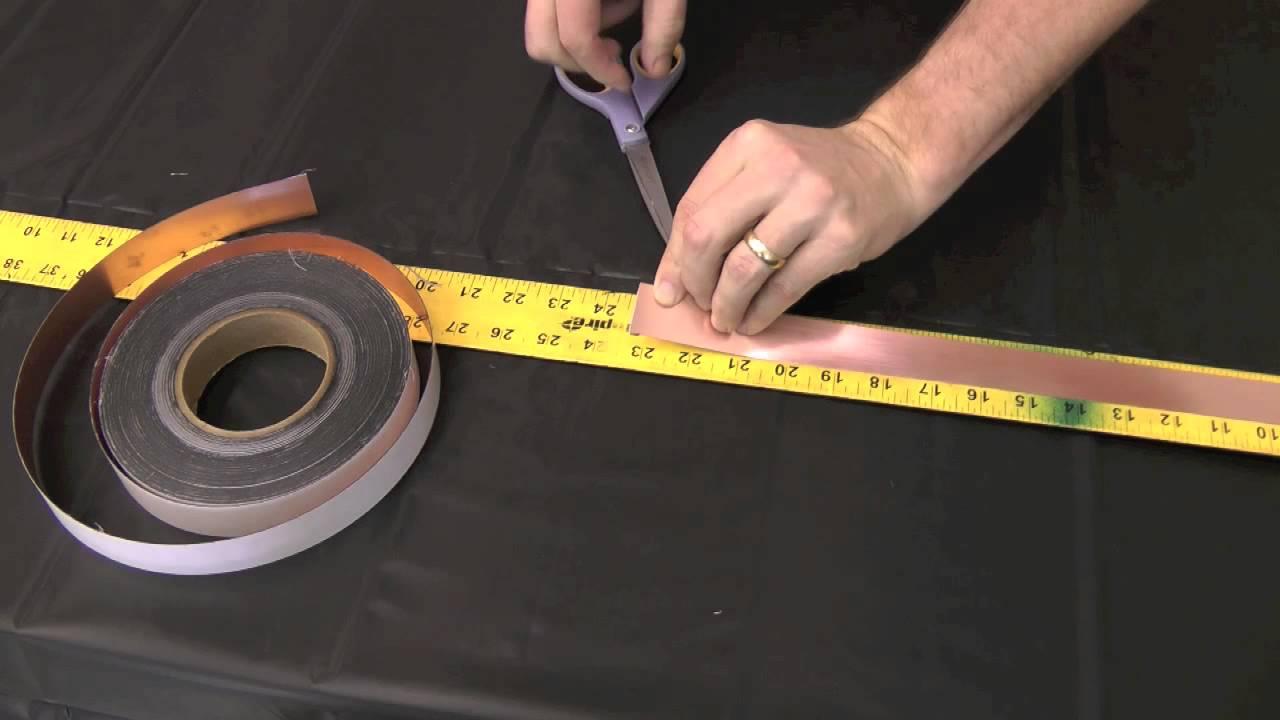 Decorative Grid Tape - Easy DIY